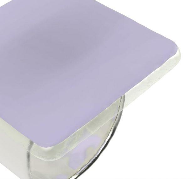 Purple Napkin Rings - Medo Lilac Napkin Ring Holders | AnnaVasily - Detail View