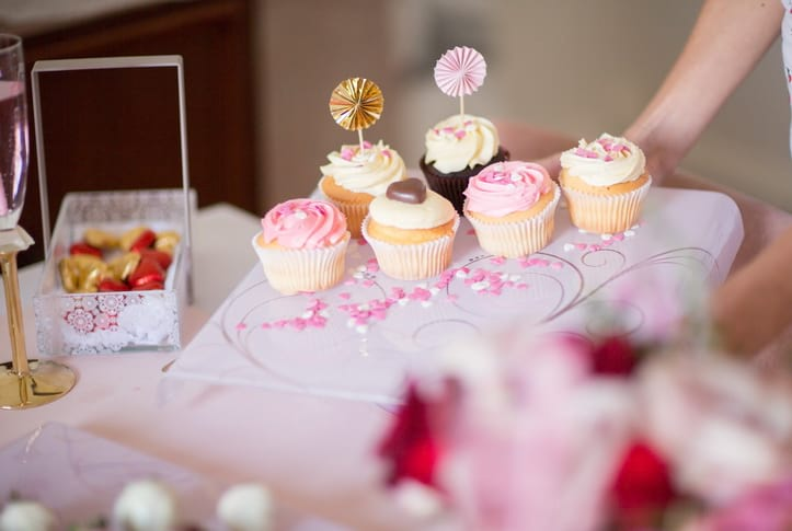 Galentine's Day Party - Host a Galentine's Day brunch with the cutest pink table setting and a cupcake station to die for!