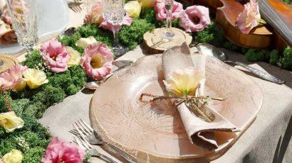 Floral dinnerware